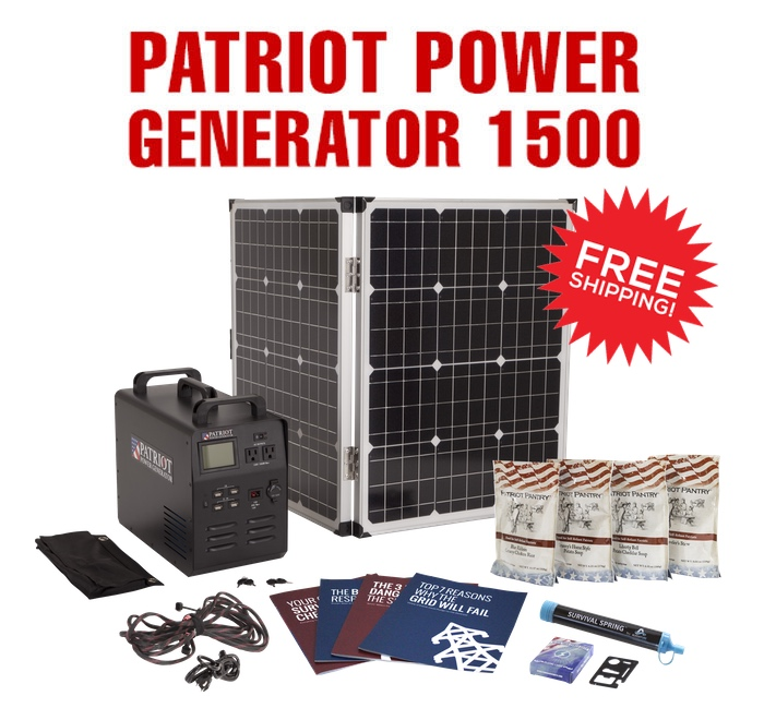 Patriot Power Generator 1500